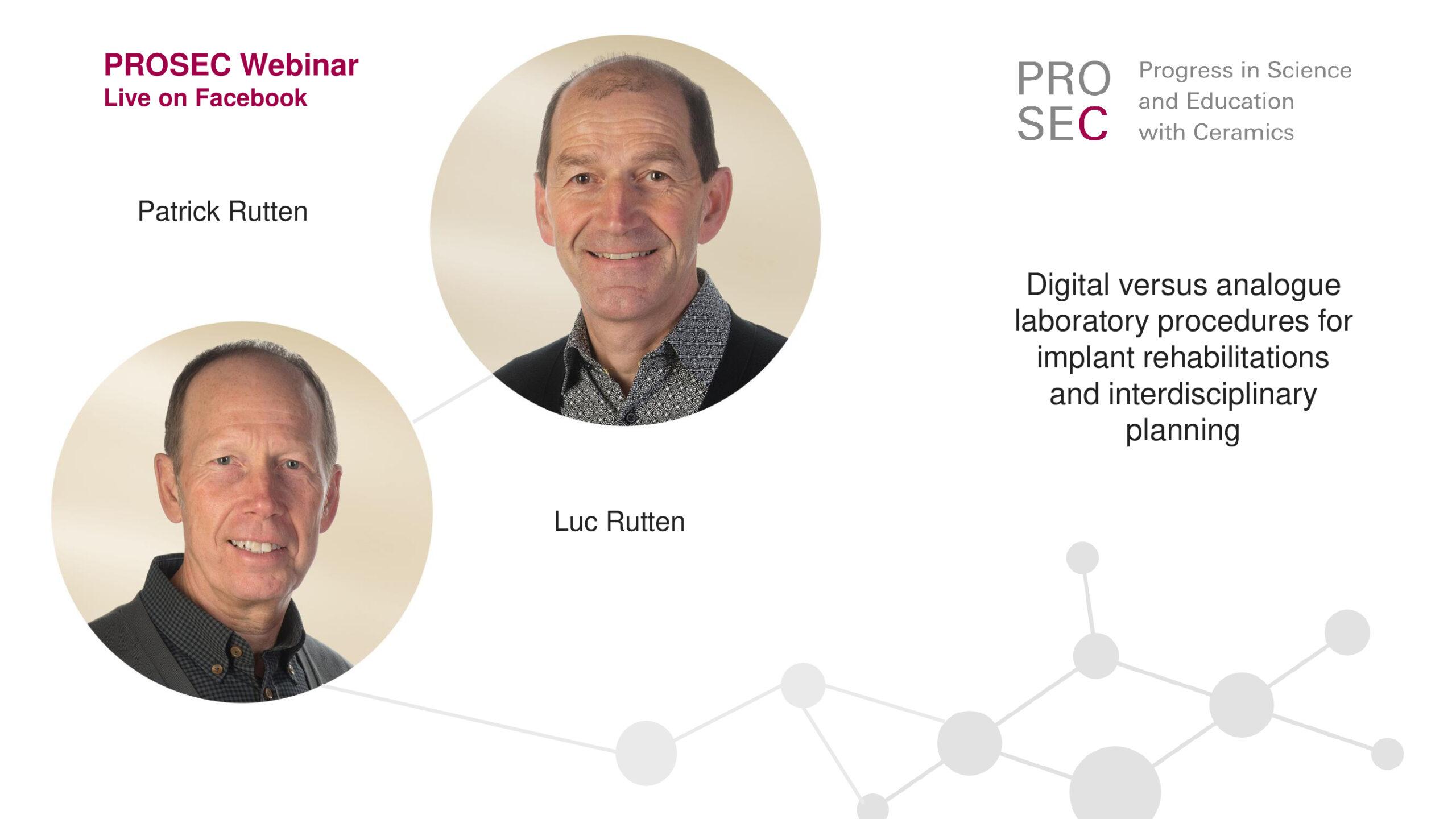 PROSEC Webinar with Patrick und Luc Rutten